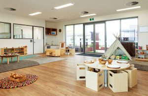 kids playing area of nido child care centre at iluka