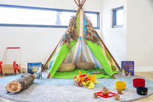 children play area in nido child care centre at bayswater north