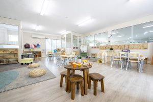 activity room for kids of nIdo child care centre in templestowe
