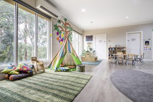 playing area for kids of nIdo child care centre in templestowe