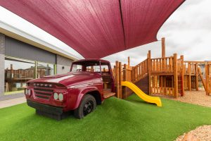 beautiful outside view image from nido child care centre in wyndham vale