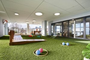 playing area view of nido child care centre at ascot vale