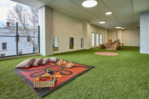 a inside view of nido early school at ascot vale