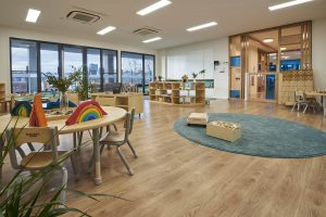 inside look of nido early school at ascot vale