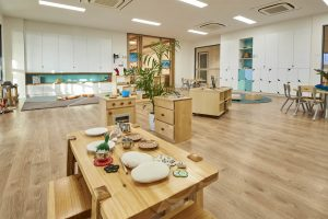 inside the nido early school at ascot vale
