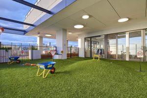 interior view of nido child care centre at ascot vale