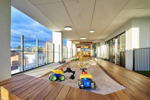 inside look of nido child care centre at ascot vale