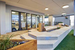 interior design look of niso child care centre at ascot vale