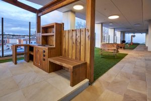 interior view of nido chi;d care centre at ascot vale