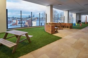 seating area view of nido child care centre at ascot vale