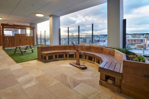 seating area look of nido child care centre at ascot valw