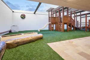 playing area of nido child care centre at ascot vsle
