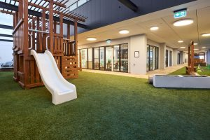 beautiful inside view of nido child care centre at ascot vale
