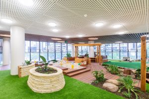 beautiful kids play area of nido child care centre at melbourne Square