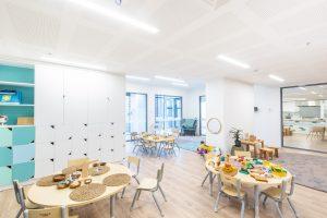 children activity room of nido child care centre at melbourne Square