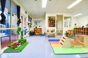 activity area for children of nido child care centre in ttafalgar