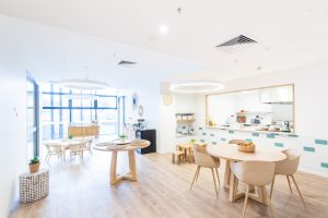activity room for kids of nido child care centre at melbourne Square